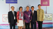 2016年印尼台灣高等教育論壇及教育展 王校長率領台灣代表團隊熱情參與