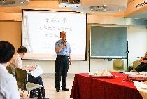 東海主題咖啡館 邀教師淺談東海未來之定位與發展