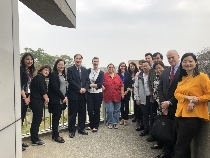 Fulbright Taiwan學術交流基金會率美籍教育主管參訪東海大學 促進雙邊國際化交流