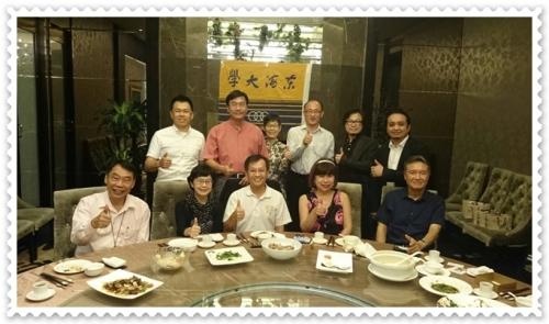 校長湯銘哲赴上海拜會校友 分享博雅教育理念