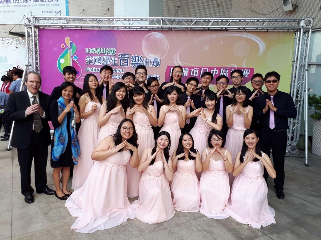 本校路思義合唱家獲全國學生音樂比賽榮獲特優