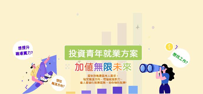 台灣就業通-投資青年就業方案