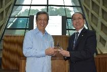 副總統陳建仁蒞臨東海大學 分享學思經歷勉勵學子