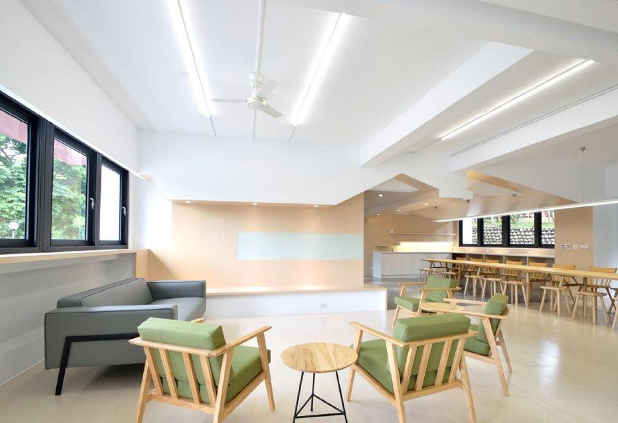 男生宿舍21棟住宿學習空間改造工程