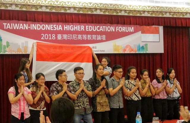 東海大學印尼學生之論壇開幕表演